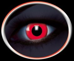 UV Red Devil Contact lenses 12 months