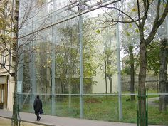 Fondation Cartier, Paris, Jean Nouvel, 1994 | Flickr - Photo Sharing!