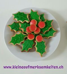 Stechpalmen Cookies