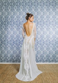 Lace wedding dress. The stunning INCA dress by Grace Loves Lace.