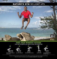 Nature's Gym 101: Jump Ups