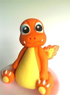 Hey, I found this really awesome Etsy listing at https://www.etsy.com/listing/459215270/pokemon-charmander-fondant-cake-topper