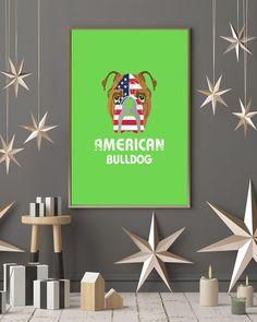 American Bulldog Dog Dog Lover Gift Bull T-Shirt - Kiwi bulldog american, french bulldog stuff, bulldog frenchie #bulldogwedding #bulldoggram #bulldogsofCT, back to school, aesthetic wallpaper, y2k fashion
