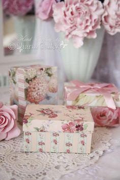Pretty Floral Boxes