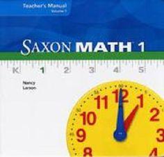 Saxon math 1 worksheets and tools