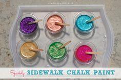Sparkly Sidewalk Cha