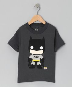 Take a look at this Gray Funko Batman Tee - Toddler by Up, Up & Away Collection on #zulily today!