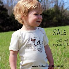 smart puppy organic baby tshirt unisex baby clothes 12m through 24m milkweed design - http://www.babies-clothes.info/smart-puppy-organic-baby-tshirt-unisex-baby-clothes-12m-through-24m-milkweed-design.html