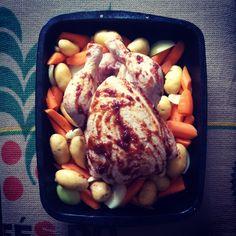 Turf slathered Chicken #TurfSauce #murphysirishstout #kittyobyrnes Chicken, Meat, Instagram Posts, Food, Essen, Meals, Yemek, Eten, Cubs