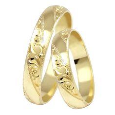 Výsledek obrázku pro zlaté snubní prsteny