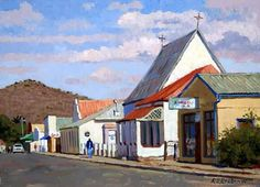 Victoria-West Victoria West, South African Recipes, Trotter, Afrikaans, Acrylic Paintings, Live, Places To Go, Beautiful Places, Illustration Art