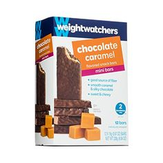 Add these chocolate caramel bars to your collection of sweet snacks and discover what may very well be your new favorite break-time treat. Check out our full line of WW snacks and meal options and find new ways to support your healthy lifestyle. Weight Watchers Muffins, Weight Watchers Desserts, Weight Watchers Online, Eat And Go, Caramel Bars, Chocolate Peanut Butter, Chocolate Bars, Chocolate Cupcakes, Snack Bar