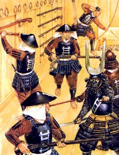 """""""The defence of Ueda Castle by the Sanada Family"""""""