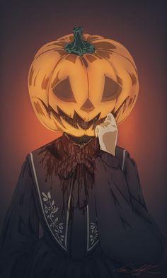 Illustration of Anna-Saida Koskiluoma Jack O, Guy Names, Halloween Art, Lanterns, Little Girls, Anna, Pumpkin, Illustration, Instagram