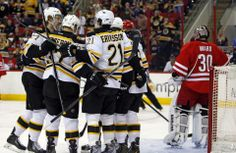 Bruins penalty kill stifles the Hurricanes The Bruins scored two goals in the first period, and got things started with Reilly Smith's power-play goal.