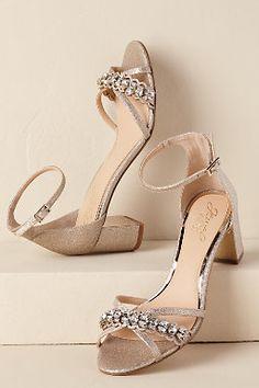 8616cff5b2ff BHLDN. Gold Block Heel ShoesWedding Shoes ...