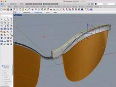 Modellieren von Sonnenbrillen in Rhino für Mac - Webinar von Kyle Houchens Rhino Cad, Rhino Tutorial, Rhinoceros 5, Solidworks Tutorial, Mac, Sketchbook Pro, Sketches Tutorial, 3d Models, 3d Prints