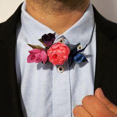 Boys #paperflower #crepepaperflowers #flowerbowtie #bowtie #paperbowtie