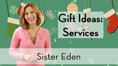 To be sure your gifts don't get returned or end up in a landfill, give the gift of services! And boy do we have a laundry list of ideas!