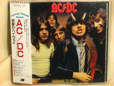 CD/Japan- AC/DC Highway To Hell w/OBI RARE EARLY 18P2-2761 east west/WARNER #HardRockHardRocknRoll