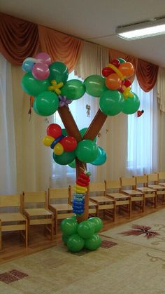Источник интернет Balloon Gate, Sculpture Art, Sculptures, Winnie The Pooh Birthday, Clown Faces, Party Central, Party Hacks, Minnie, Balloon Decorations