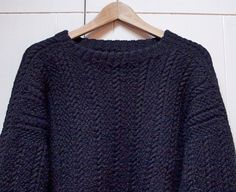 Seamless Guernsey Sweater