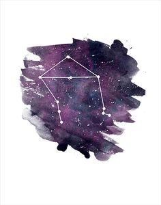 Zodiac libra constellation Libra Zodiac Sign by HamptyDamptyArt