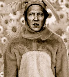 Walken.show the kids this pic when they ask bout Easter Bunny