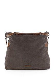 Esprit / textile fabric tote bag