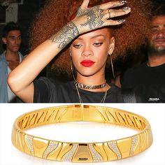 Rihanna in the Kar Collar