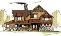 Dynamic Open Floor Plan - 18717CK | 1st Floor Master Suite, Butler Walk-in Pantry, Craftsman, Jack & Jill Bath, Loft, Log, Mountain, PDF, Photo Gallery, Premium Collection, Vacation | Architectural Designs
