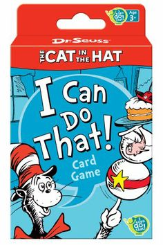 Amazon.com: Dr. Seuss Cat in the Hat Card Game: Toys & Games