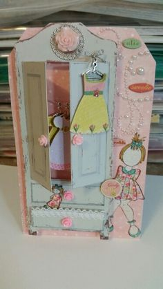 My doll's armoire.