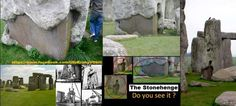 Some kind of cover up, too disguise the real shape of the stones???