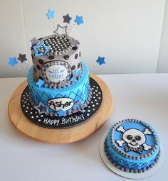 Lil Rebel and Smash Cake