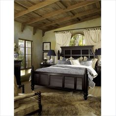 Lowest price online on all Tommy Bahama Home Kingstown Malabar Wood Panel Bed 5 Piece Panel Bedroom Set in Tamarind - Tommy Bahama, Bedroom Furniture, Bedroom Decor, Kitchen Furniture, Colonial Furniture, Furniture Ideas, Furniture Sale, Antique Furniture, Bedroom Interiors
