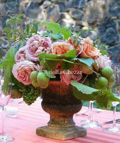 ariella wedding flowers | heart ariella chezar
