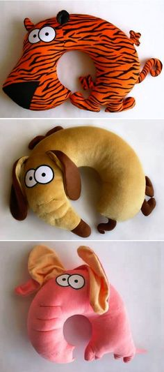Animal neck-pillow ideas