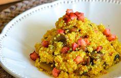 16 receitas de risoto de quinoa para se encantar com esse prato irresistível