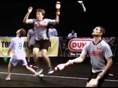 Major League Combat is a sport that combines juggling, rugby, Capture the Flag, and maybe Quidditch?
