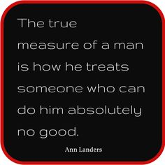 Great advice from Ann Landers