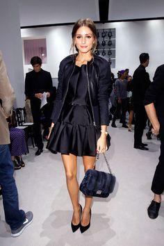 Olivia Palermo en el desfile SS13 de Christian Dior el 28 de septiembre de 2012 durante Paris Fashion Week.