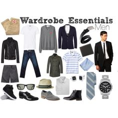 Wardrobe Essentials: Men