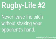 sportsmanship always.