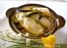 Crêpes alla crema di asparagi http://blog.giallozafferano.it/graficareincucina/crepes-alla-crema-di-asparagi/