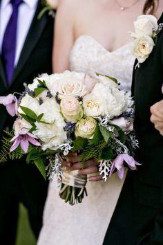 Lush mixed spring bouquet: http://www.stylemepretty.com/california-weddings/malibu/2015/08/06/romantic-saddlerock-ranch-wedding/ | Photography: B&G Photography - http://www.bandgphotography.com/
