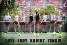 Tennis Team Poster    Korinna Braun Photography