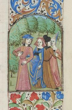 Book of Hours, MS M.312 fol. 4r - Images from Medieval and Renaissance Manuscripts - The Morgan Library & Museum