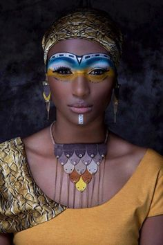 **African woman - faces of the people