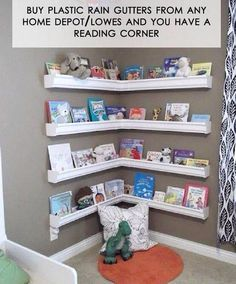 Definitely would be a good addition to the corner of her room, a little reading center :)
